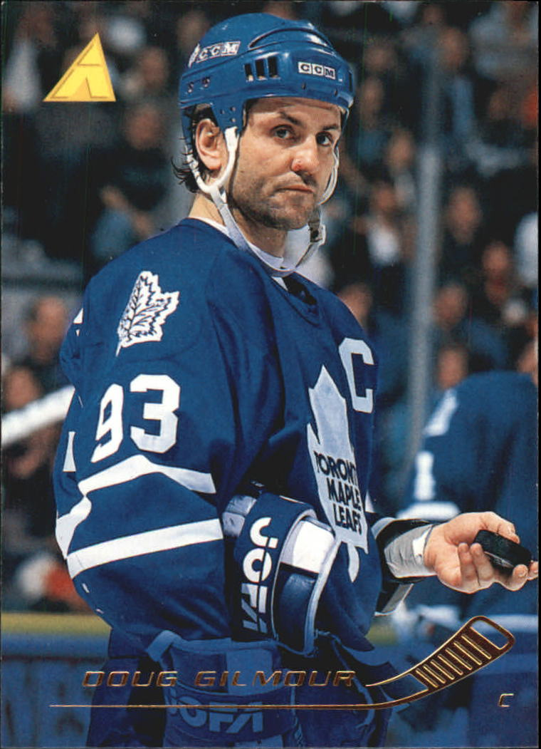 1995-96 Pinnacle #61 Doug Gilmour