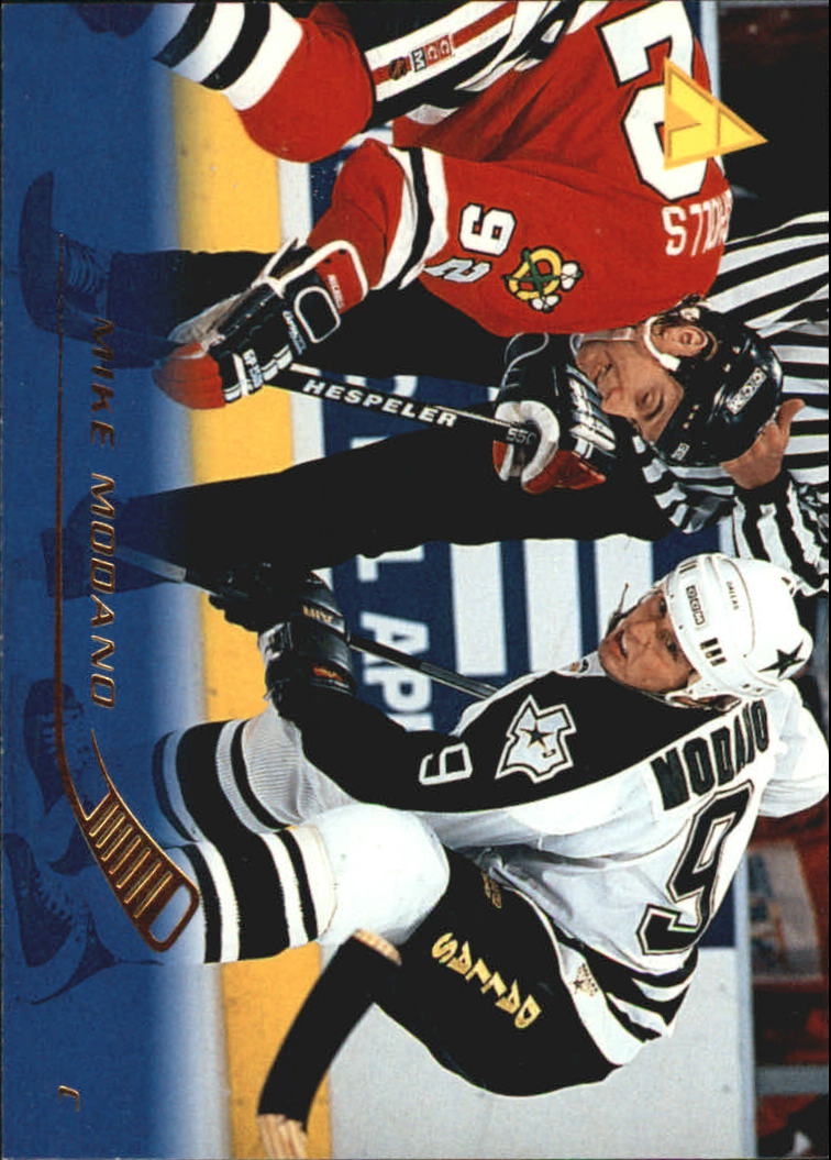 1995-96 Pinnacle #108 Mike Modano