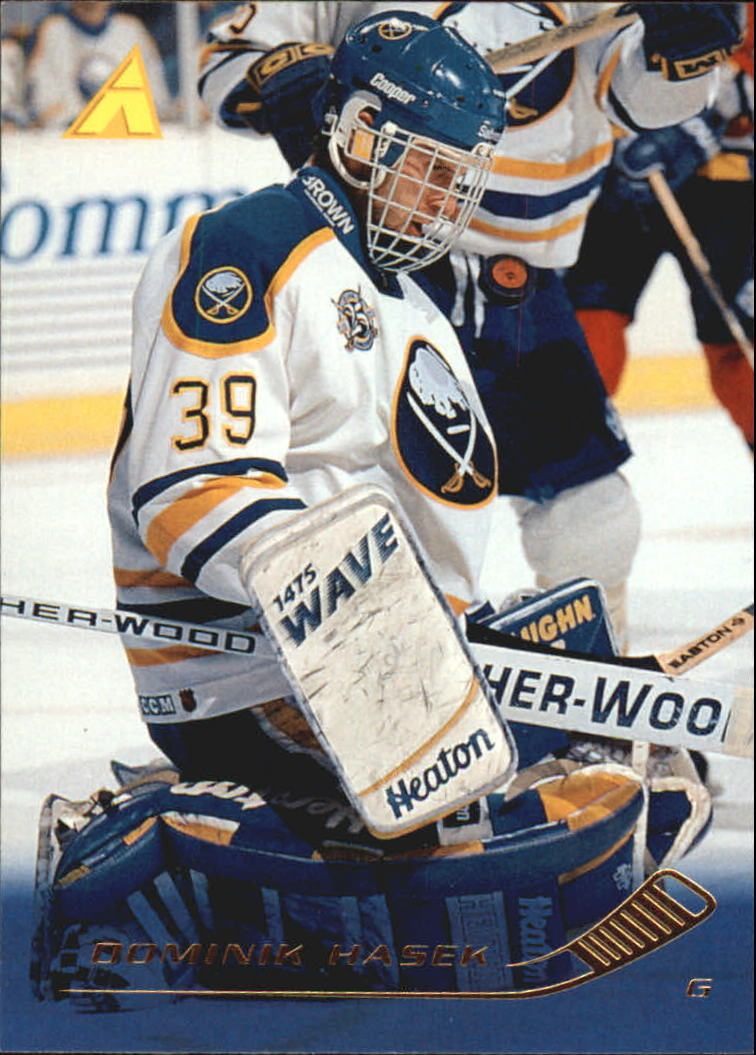 1995-96 Pinnacle #139 Dominik Hasek