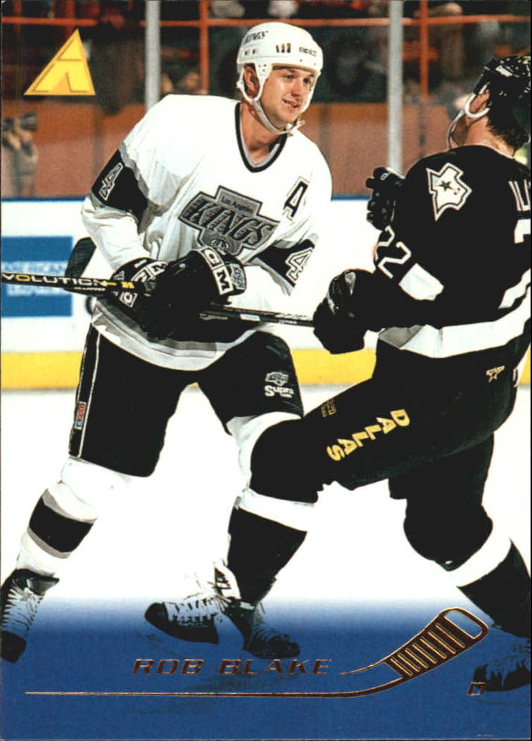 1995-96 Pinnacle #198 Rob Blake