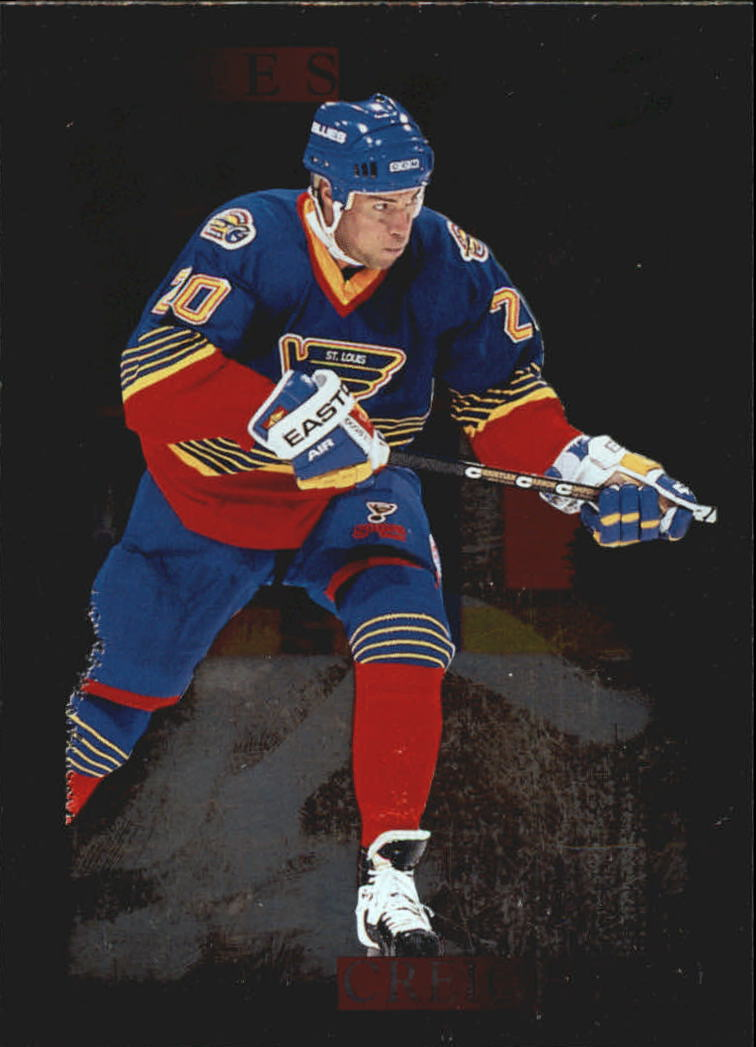 1995-96 Score Black Ice Artist's Proofs #283 Adam Creighton