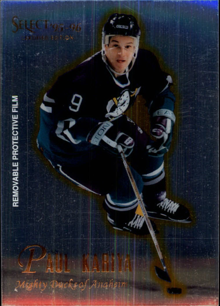 1995-96 Select Certified #13 Paul Kariya