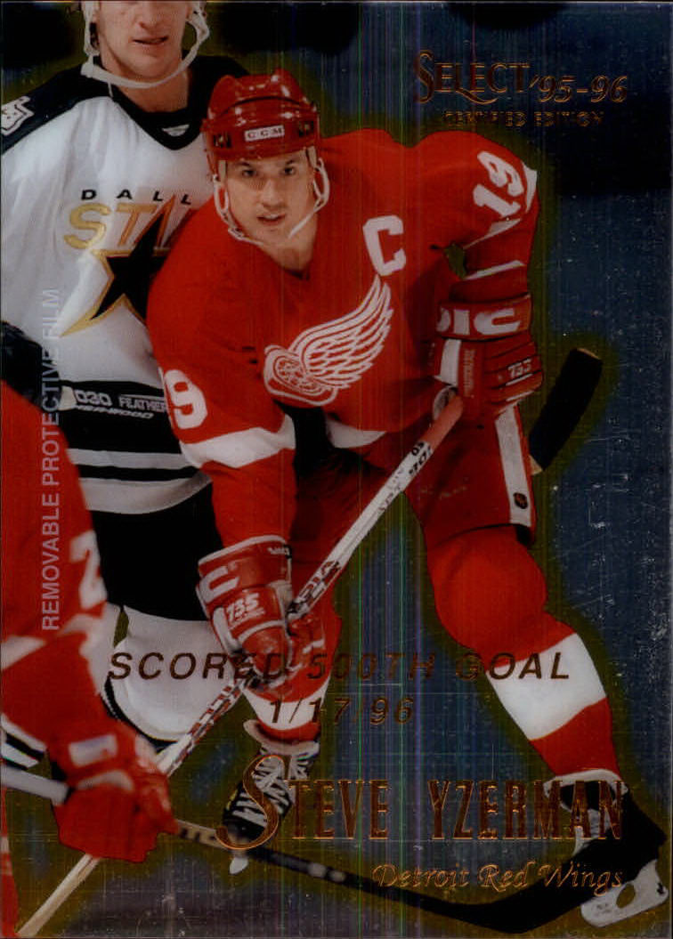 1995-96 Select Certified #94 Steve Yzerman