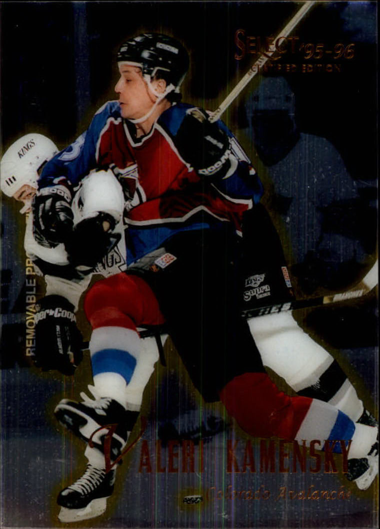 1995-96 Select Certified #105 Valeri Kamensky