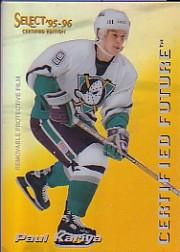 1995-96 Select Certified Future #3 Paul Kariya