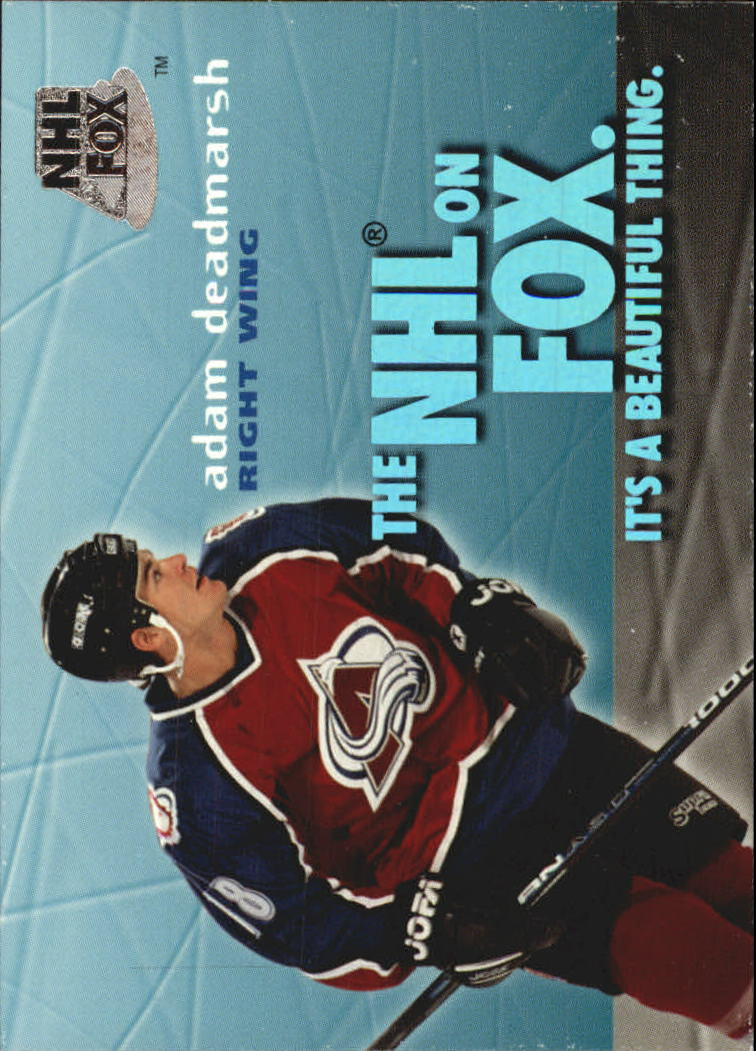 1995-96 SkyBox Impact NHL On Fox #4 Adam Deadmarsh