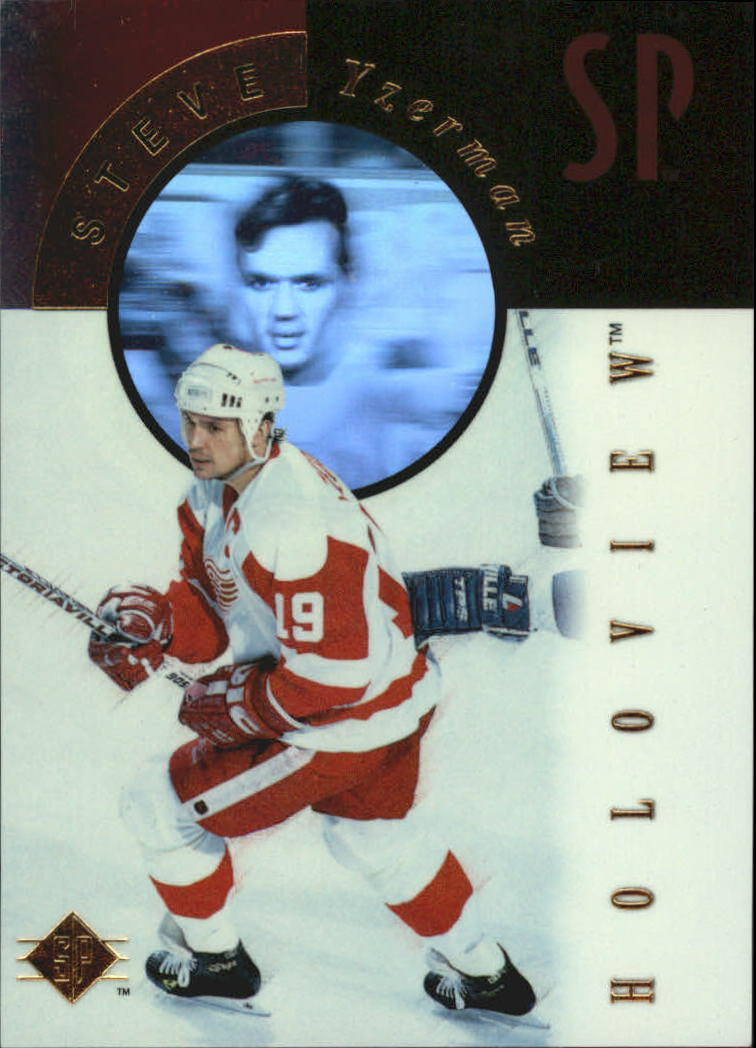 1995-96 SP Holoviews #FX7 Steve Yzerman