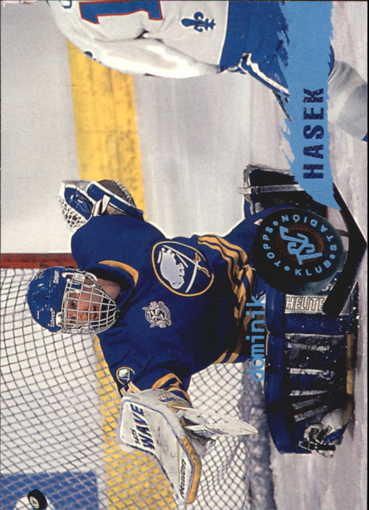 1995-96 Stadium Club #60 Dominik Hasek