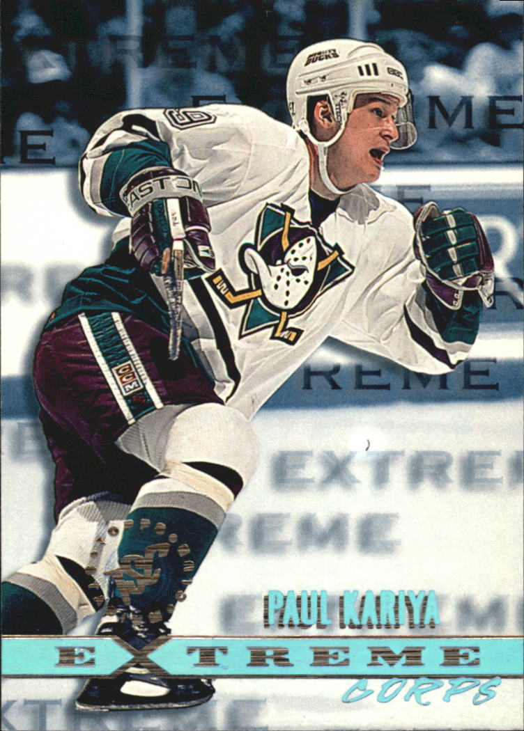 1995-96 Stadium Club #174 Paul Kariya EC