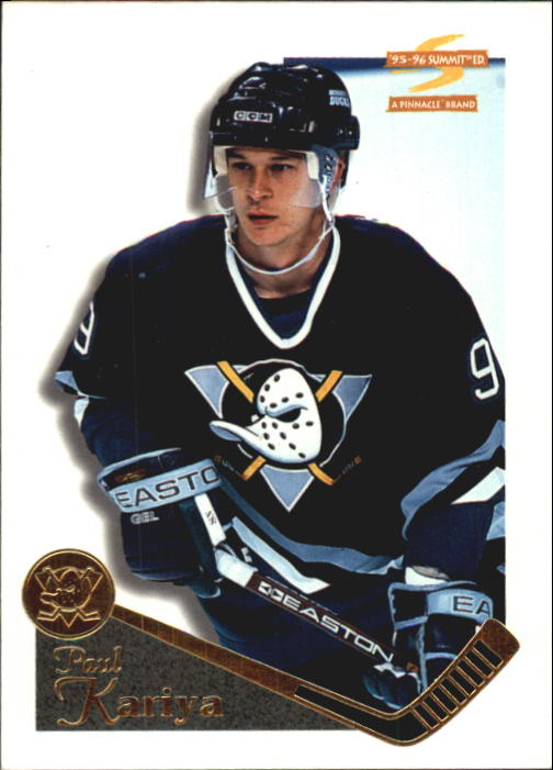 1995-96 Summit #2 Paul Kariya