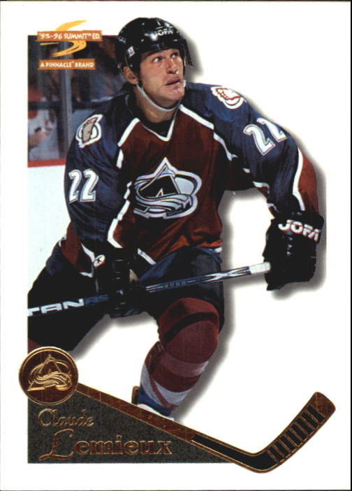 1995-96 Summit #129 Claude Lemieux