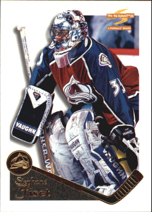 1995-96 Summit #160 Stephane Fiset