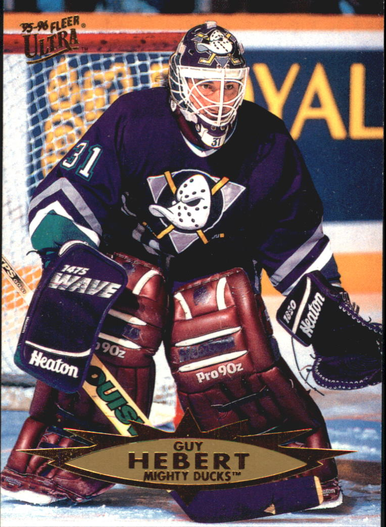 1995-96 Ultra #1 Guy Hebert