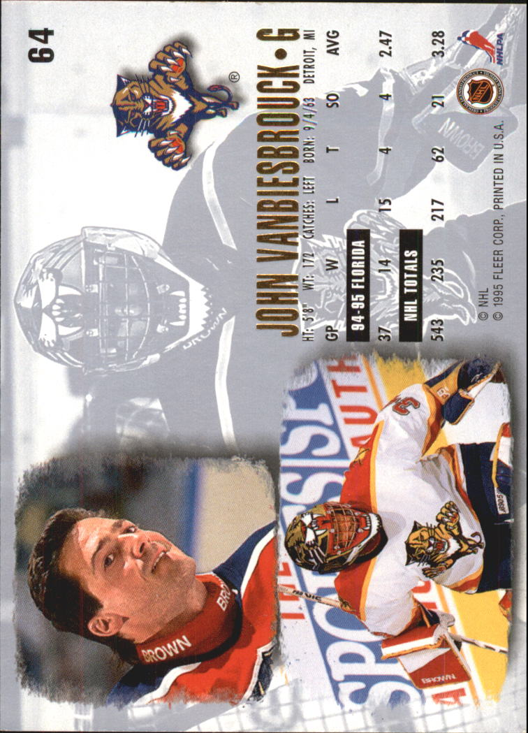 1995-96-Ultra-Hockey-Cards-Pick-From-List miniature 113