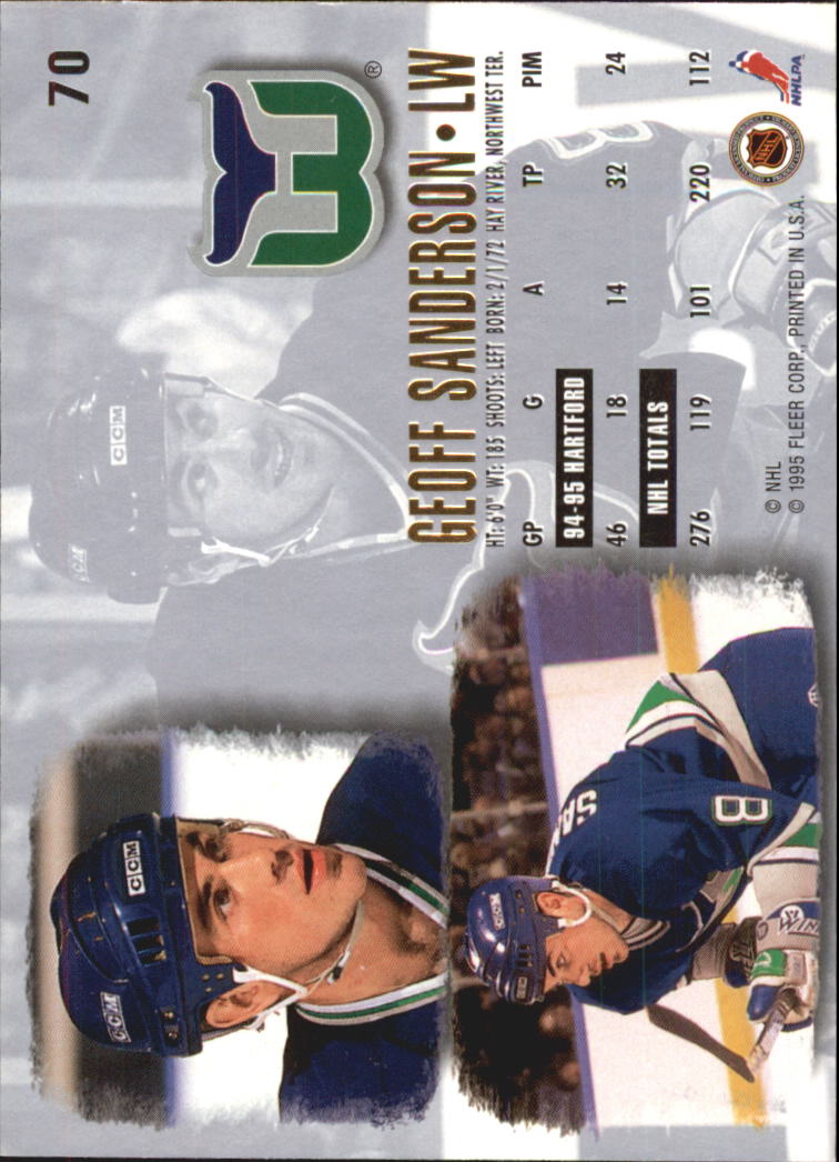1995-96-Ultra-Hockey-Cards-Pick-From-List miniature 125