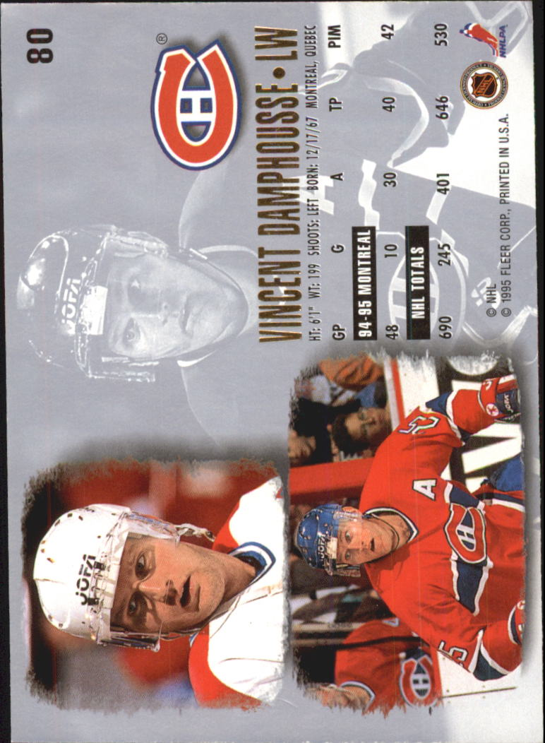 1995-96-Ultra-Hockey-Cards-Pick-From-List miniature 139