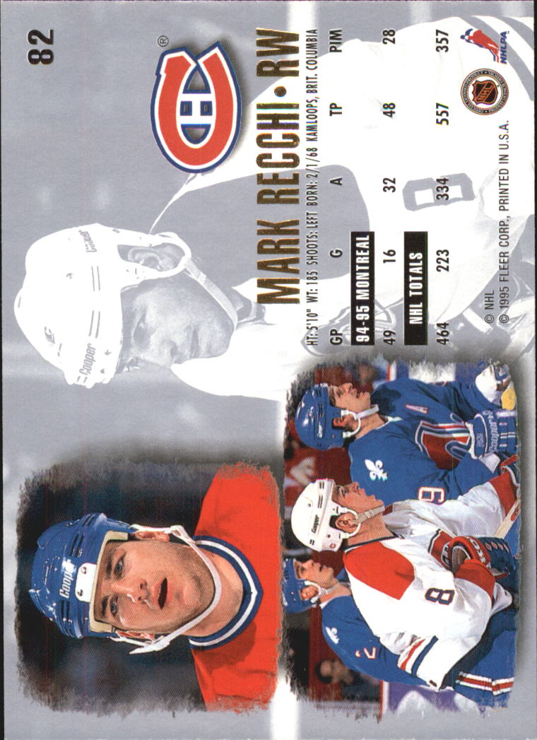 1995-96-Ultra-Hockey-Cards-Pick-From-List miniature 143