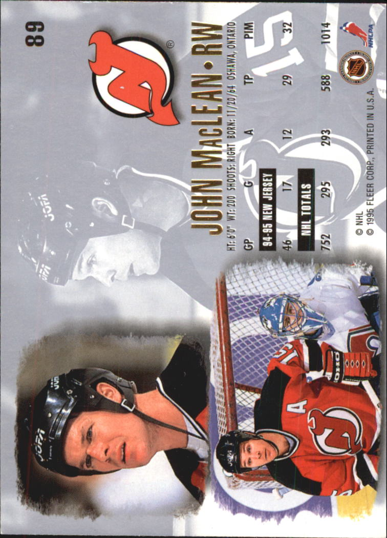 1995-96-Ultra-Hockey-Cards-Pick-From-List miniature 155