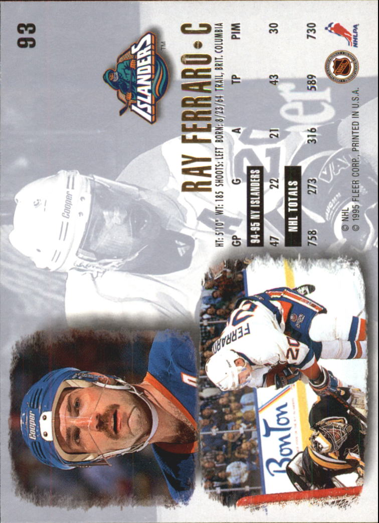 1995-96-Ultra-Hockey-Cards-Pick-From-List miniature 163