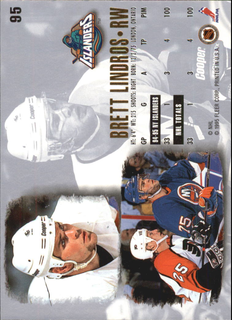 1995-96-Ultra-Hockey-Cards-Pick-From-List miniature 167