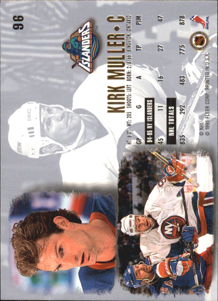 1995-96-Ultra-Hockey-Cards-Pick-From-List miniature 169