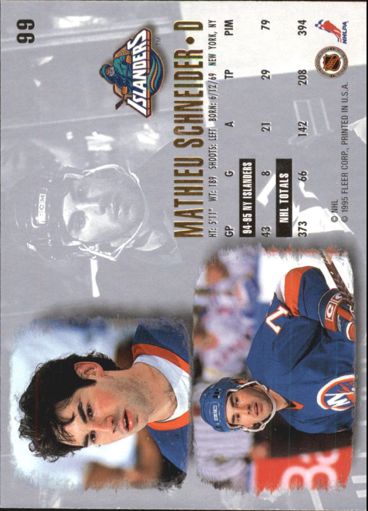 1995-96-Ultra-Hockey-Cards-Pick-From-List miniature 175