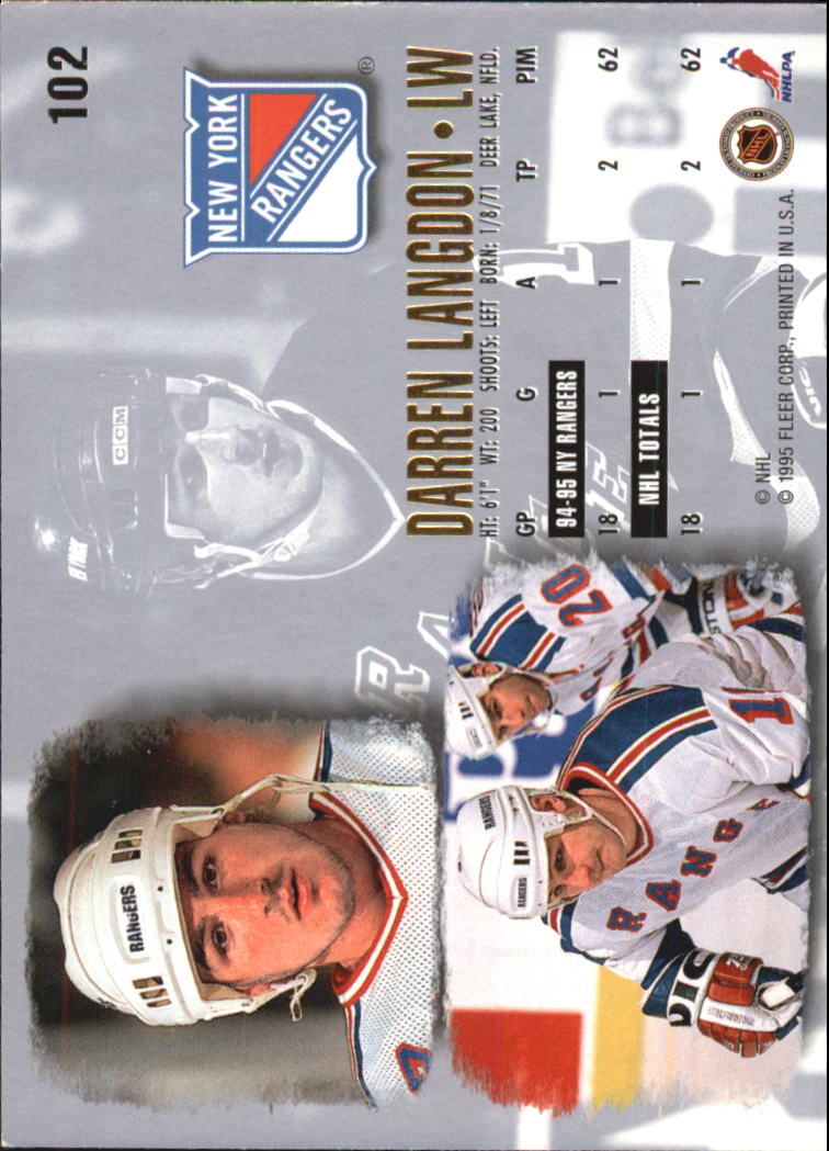 1995-96-Ultra-Hockey-Cards-Pick-From-List miniature 181
