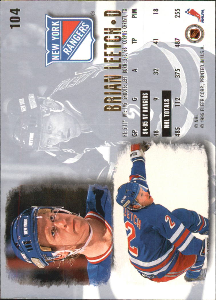 1995-96-Ultra-Hockey-Cards-Pick-From-List miniature 185