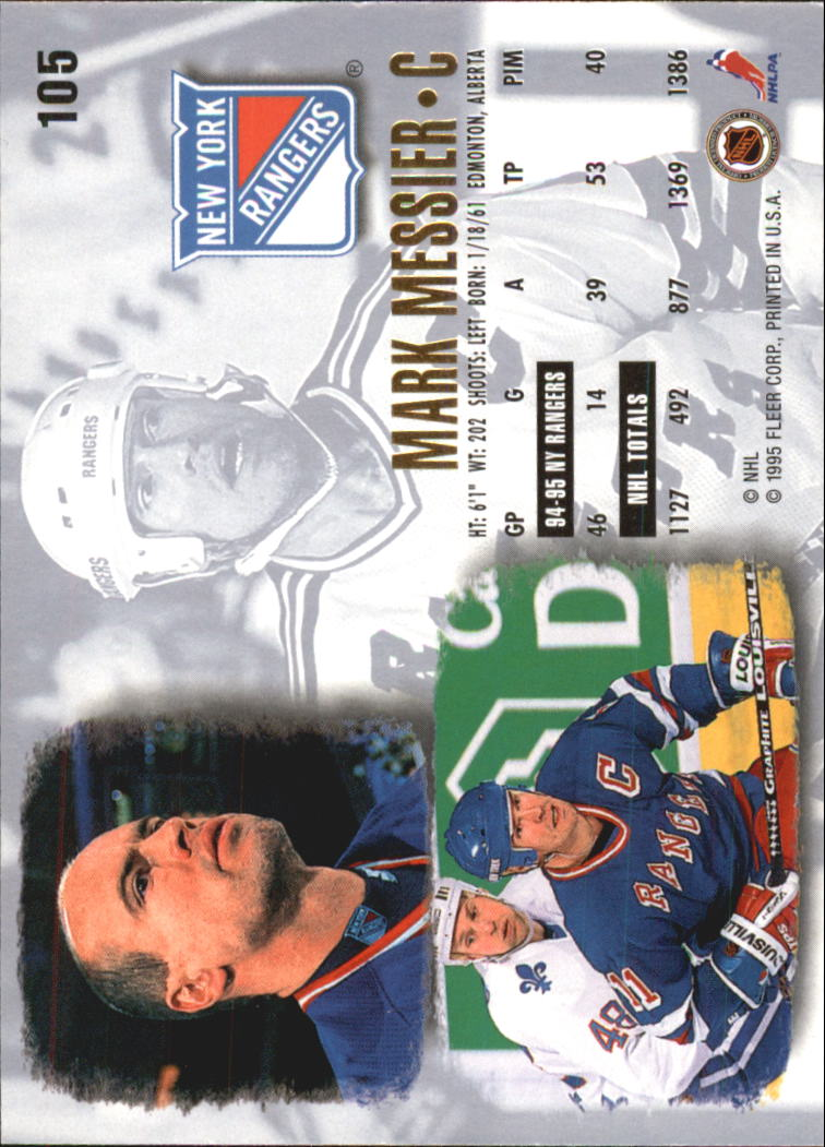 1995-96-Ultra-Hockey-Cards-Pick-From-List miniature 187