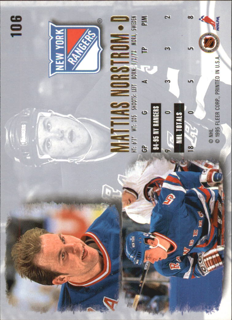 1995-96-Ultra-Hockey-Cards-Pick-From-List miniature 189