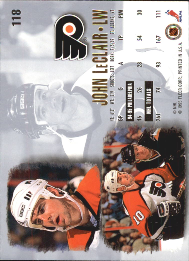 1995-96-Ultra-Hockey-Cards-Pick-From-List miniature 209
