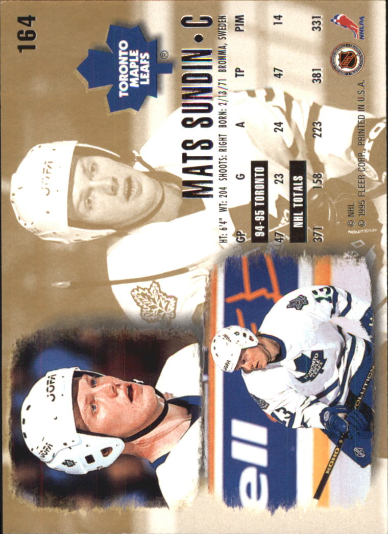 1995-96-Ultra-Hockey-Cards-Pick-From-List miniature 297