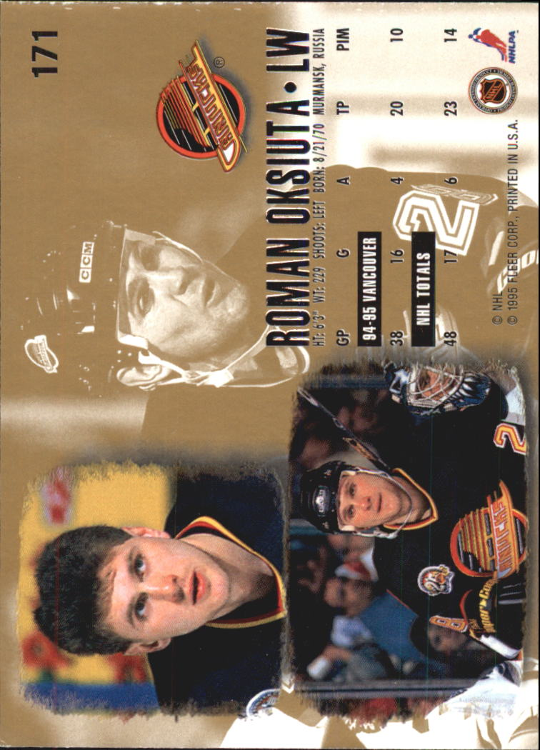 1995-96-Ultra-Hockey-Cards-Pick-From-List miniature 311