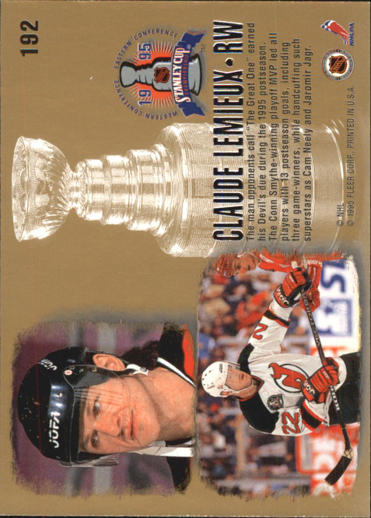 1995-96-Ultra-Hockey-Cards-Pick-From-List miniature 349