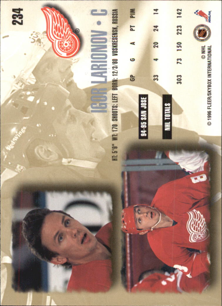 1995-96-Ultra-Hockey-Cards-Pick-From-List miniature 385