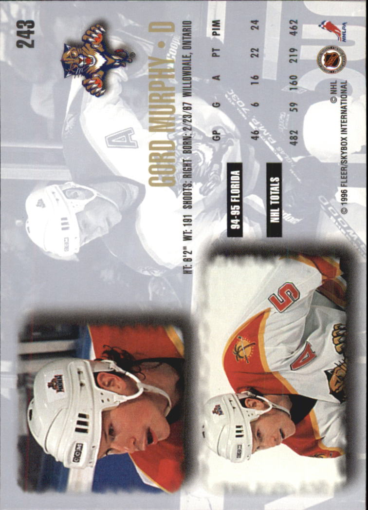 1995-96-Ultra-Hockey-Cards-Pick-From-List miniature 393