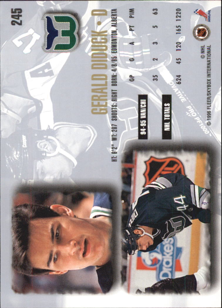 1995-96-Ultra-Hockey-Cards-Pick-From-List miniature 397