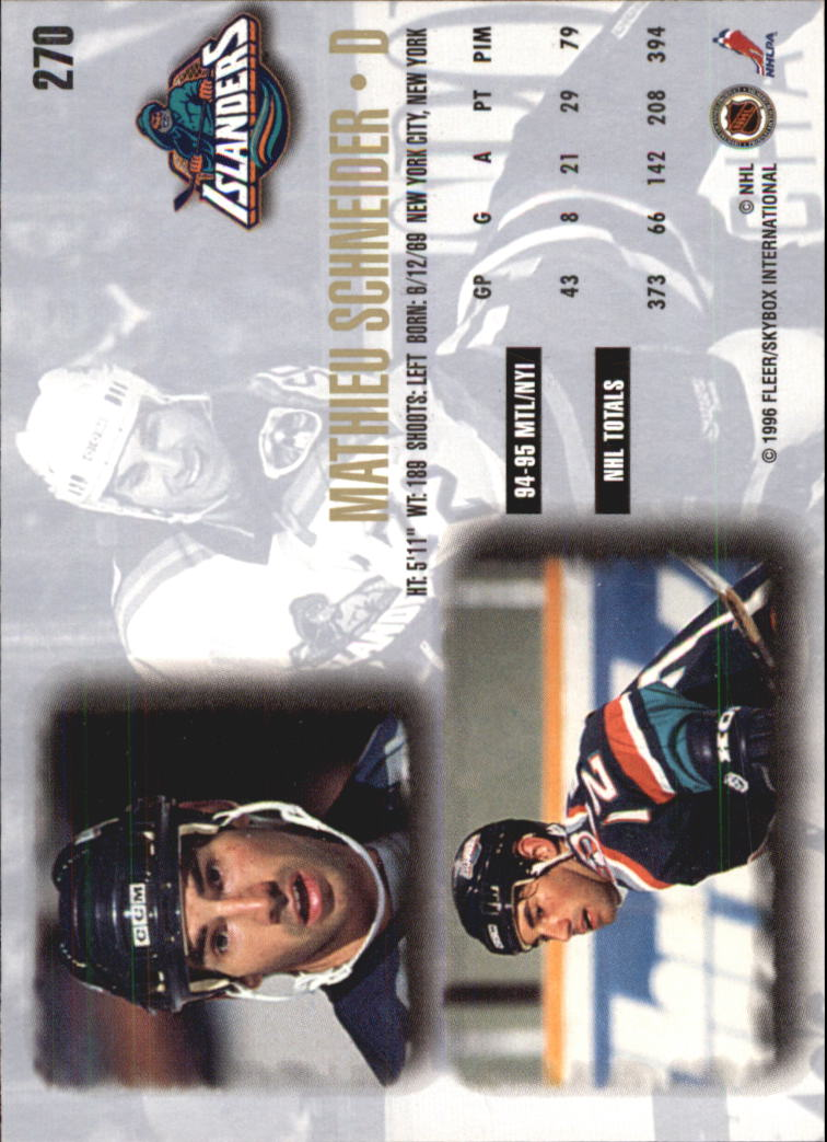 1995-96-Ultra-Hockey-Cards-Pick-From-List miniature 417