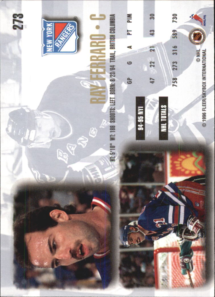 1995-96-Ultra-Hockey-Cards-Pick-From-List miniature 419