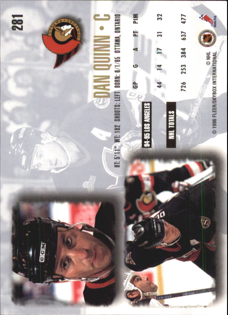 1995-96-Ultra-Hockey-Cards-Pick-From-List miniature 425