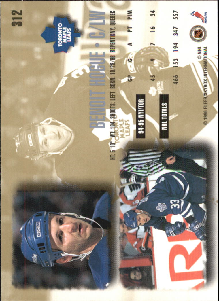 1995-96-Ultra-Hockey-Cards-Pick-From-List miniature 453