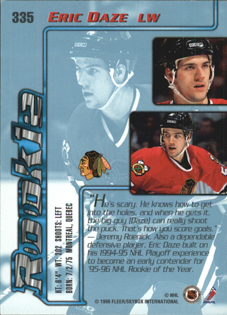 1995-96-Ultra-Hockey-Cards-Pick-From-List miniature 465