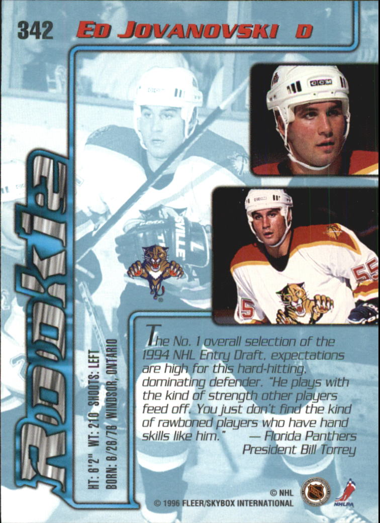 1995-96-Ultra-Hockey-Cards-Pick-From-List miniature 467