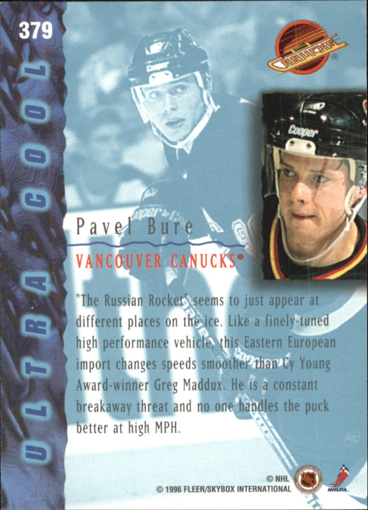 1995-96-Ultra-Hockey-Cards-Pick-From-List miniature 473