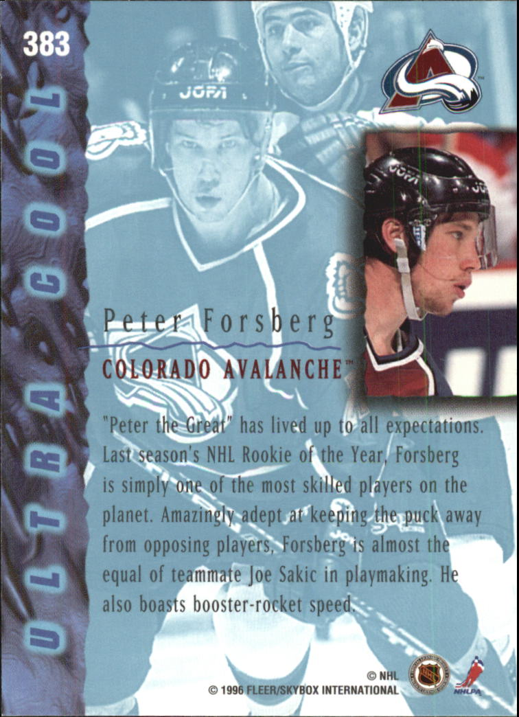 1995-96-Ultra-Hockey-Cards-Pick-From-List miniature 475