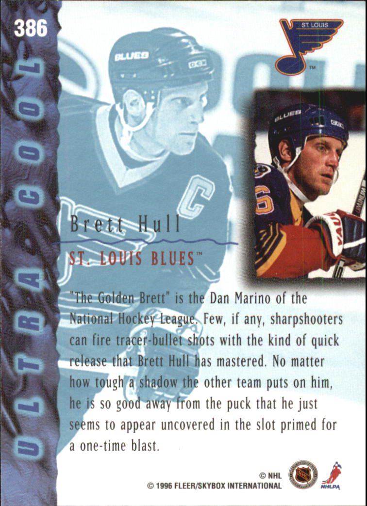 1995-96-Ultra-Hockey-Cards-Pick-From-List miniature 477