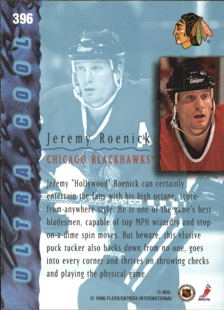 1995-96-Ultra-Hockey-Cards-Pick-From-List miniature 485