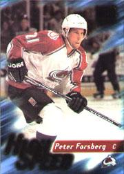 1995-96 Ultra High Speed #8 Peter Forsberg