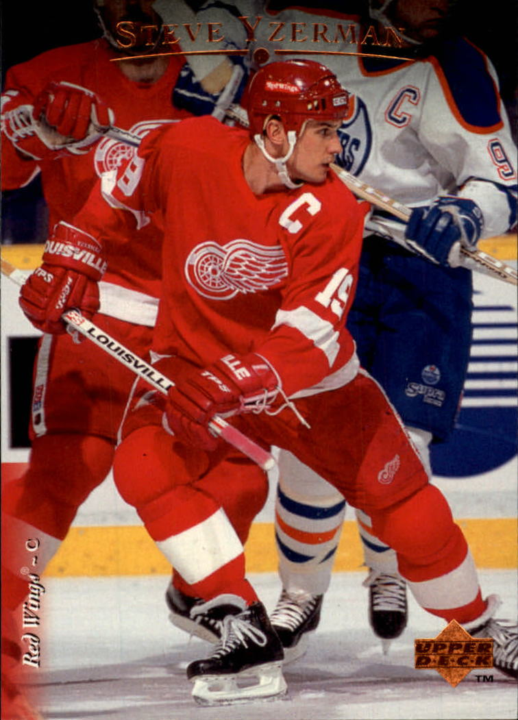 1995-96 Upper Deck #113 Steve Yzerman