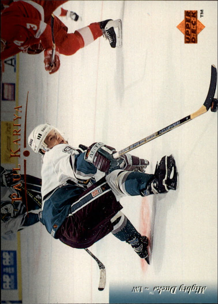 1995-96 Upper Deck #206 Paul Kariya